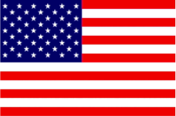 Usa flag for modal window - Support Us