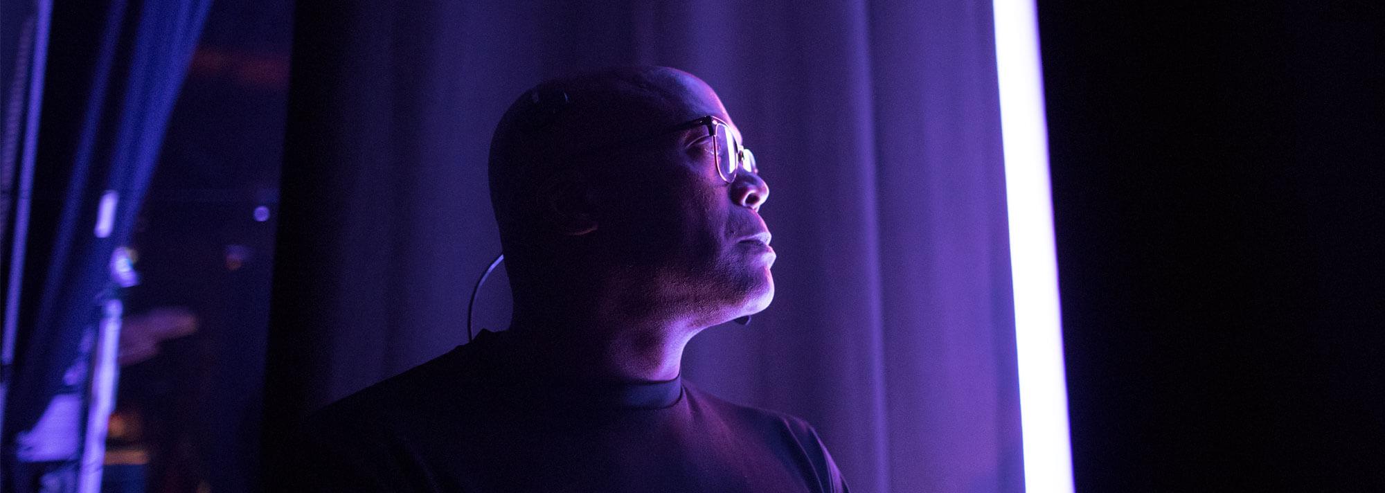 Kevin Watson backstage