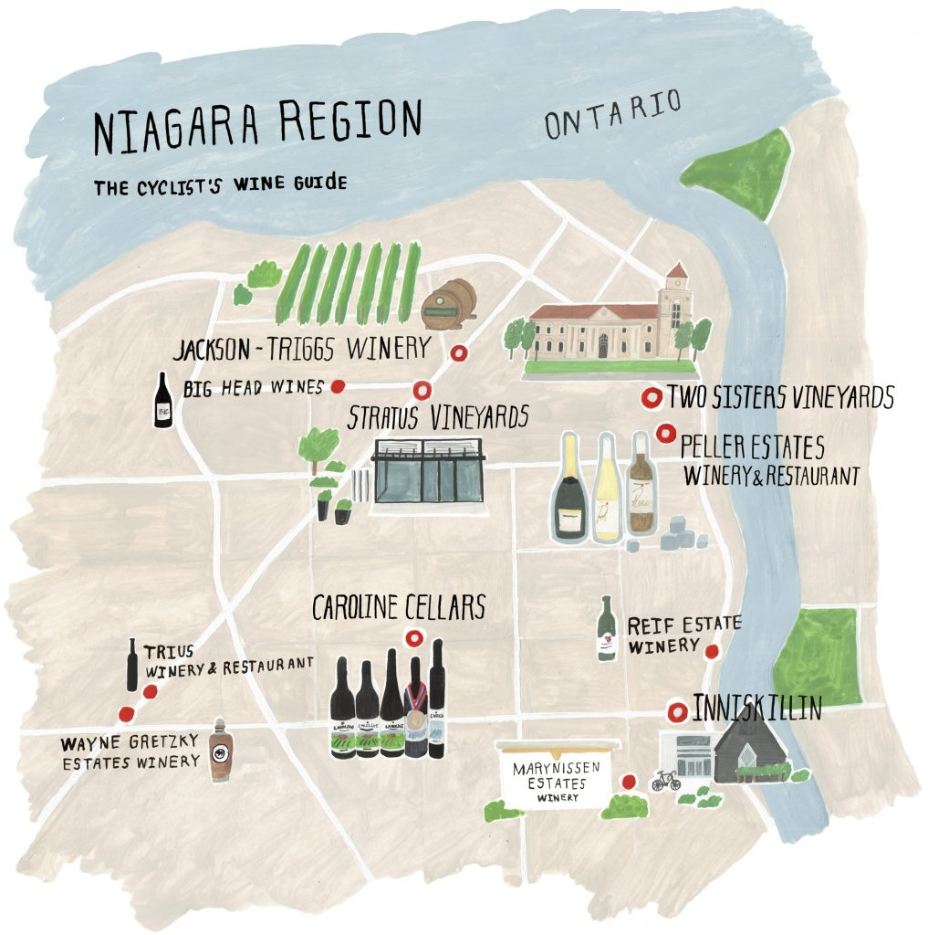 The Cyclist's Wine Guide to the Niagara Region - Shaw